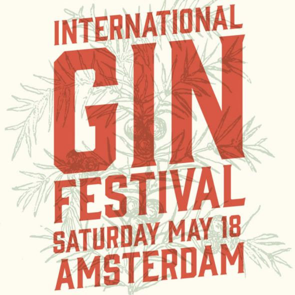 Pienaar op Ginfestival Amsterdam, stand 36